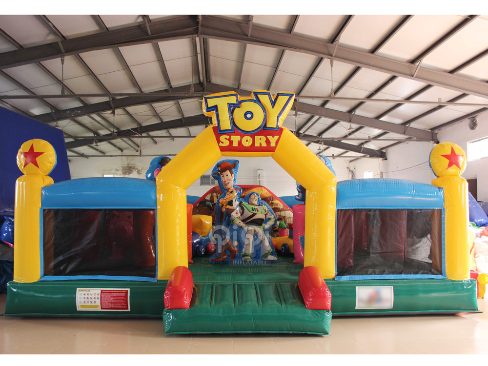 Toy Story Playground : Toy story inflatable kids playground qiqi toys inflatables