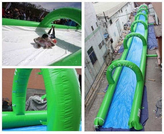 biggest inflatable warter slide