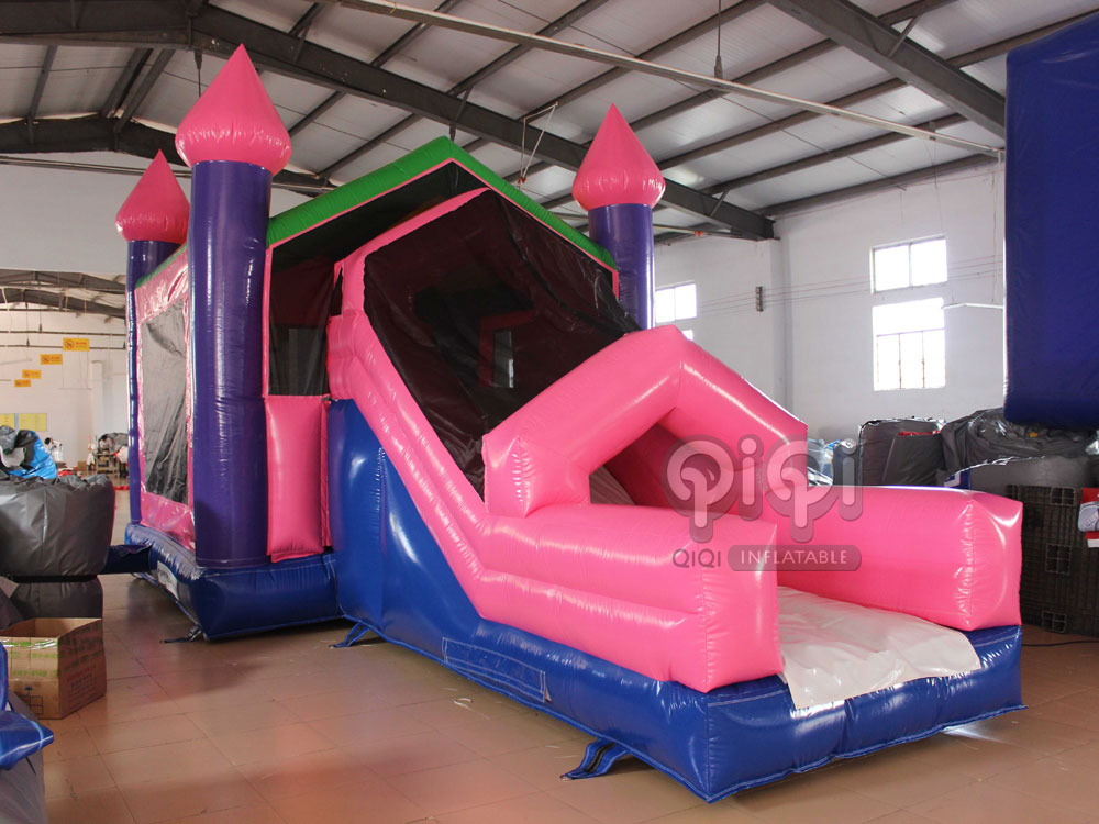 Inflatable_princess_Castle_Slide_Combo_QCO-3557-1