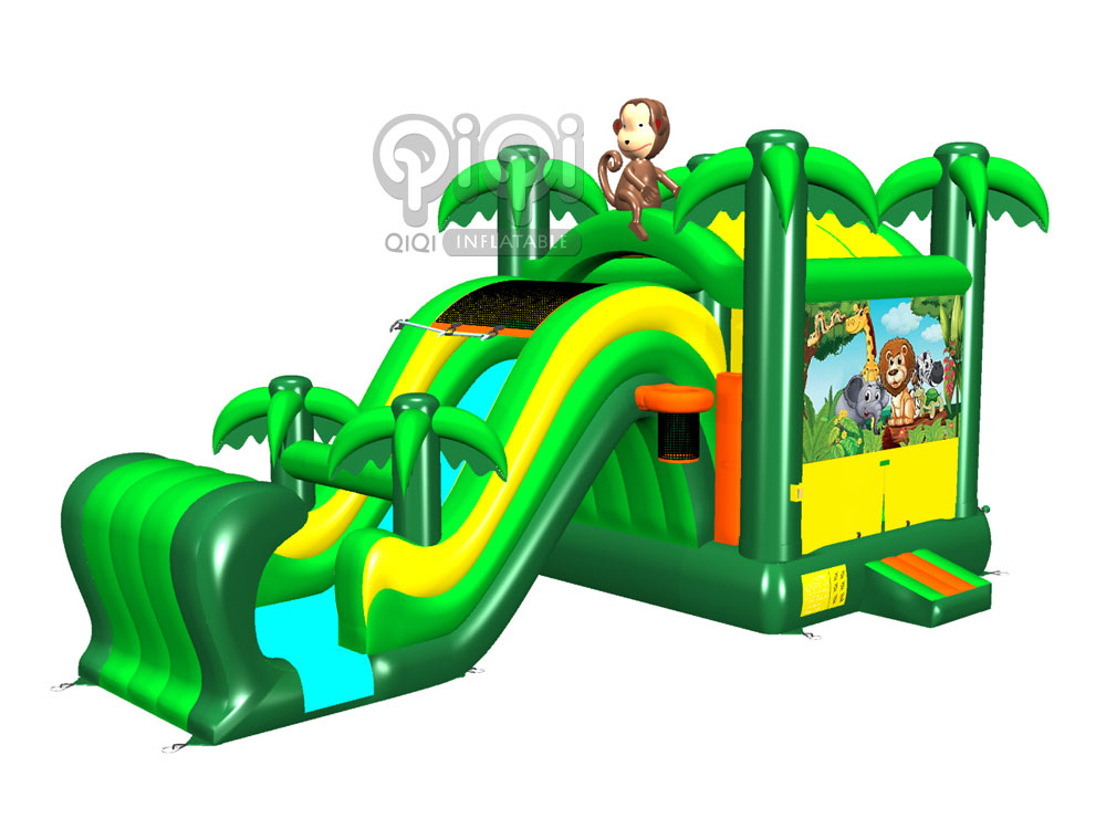 Jungle Inflatable Dry N Wet Combo