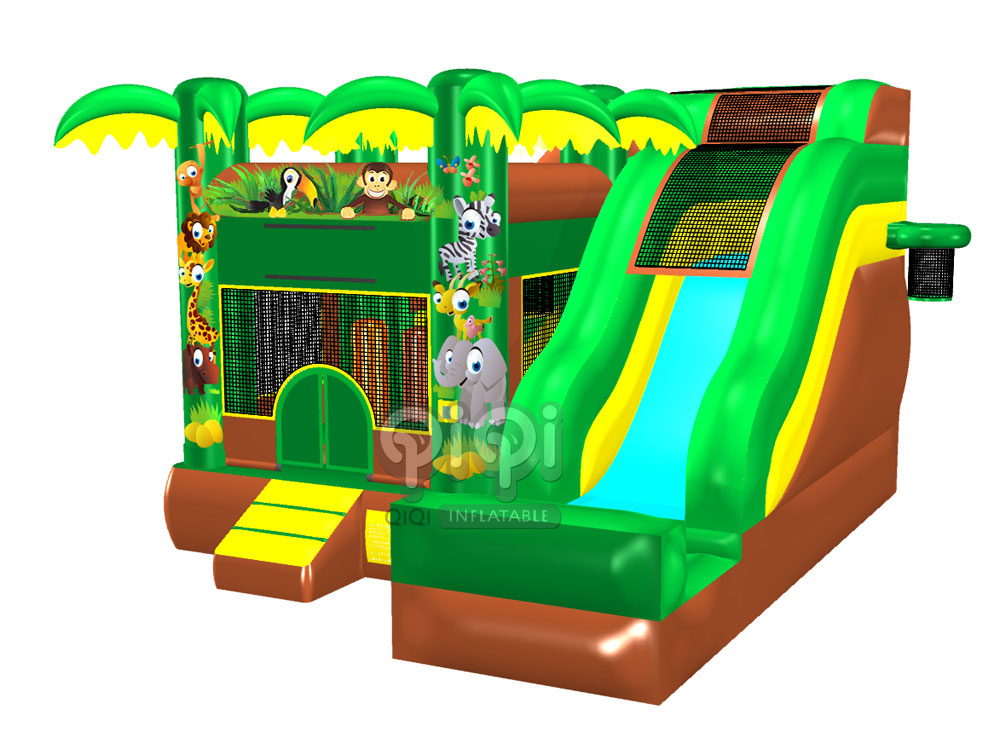 5 in 1 Jungle Jumping Castle Combo_QCO-3555-c-1