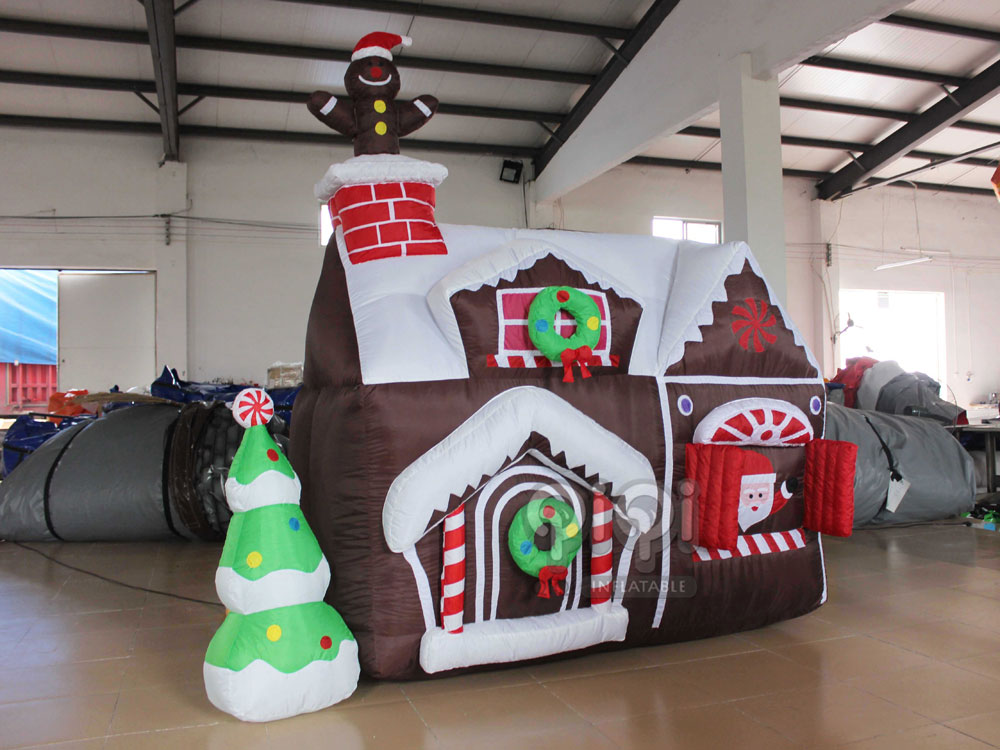 mini inflatable christmas house qho 1093 1 - Inflatable Christmas