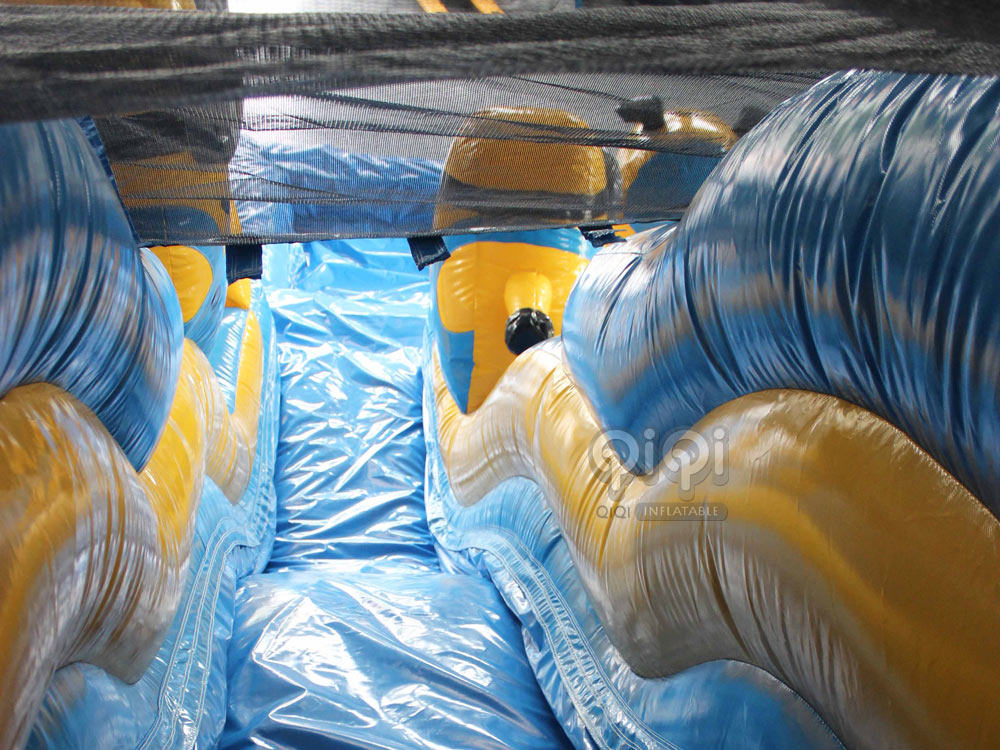 New Minions Dual Water Slide